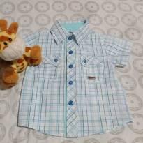 Camisa Xadrez - 1 ano - Trick