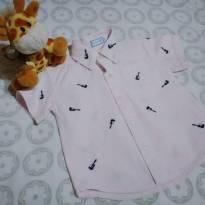 Camisa rosa guitarras - 9 a 12 meses - yoyo Baby