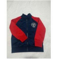 Jaqueta azul com vermelho - 24 a 36 meses - Baby Club