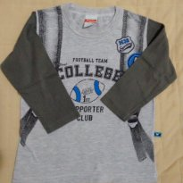 Camiseta manga longa - 1 ano - Marlan