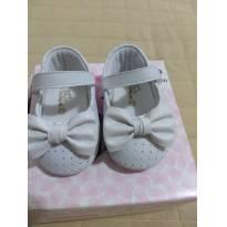Sapato branco Laço - 15 - Pampili