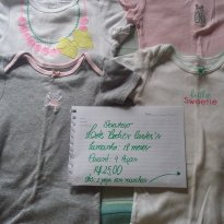Lote bodies Carter s - 12 a 18 meses - Carter`s