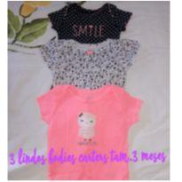 Bodies Carters - 3 a 6 meses - Carter`s