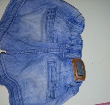 Short Jeans Baby Lilica Repilica - 6 a 9 meses - Lilica Ripilica