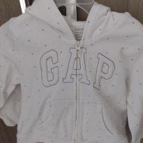 Blusa de frio de moletom baby gap - 18 a 24 meses - Baby Gap