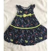 Vestido Fakini - 6 a 9 meses - Fakini