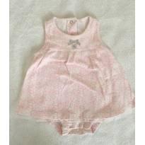 Body vestido - 3 a 6 meses - BIBE