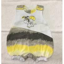 Macaquinho amarelo e cinza - 3 meses - Petutinha