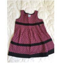 Vestido de bolinha - 1 ano - Pulla Bulla
