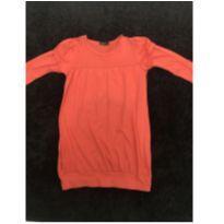 Vestido de malha laranja - 6 anos - George