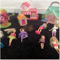 Casinhas da Polly Pocket -  - Mattel