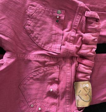 Calça rosa pink - 6 anos - Chicco