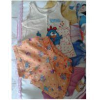 Conjunto Galinha Pintadinha - 9 a 12 meses - Marisol