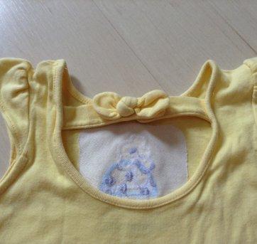 Body amarelo - 6 a 9 meses - Gymboree