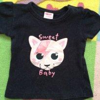 Camiseta - 6 a 9 meses - Baby Way