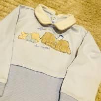 Macacão Chicco em Algodão Muito Fofo :) - 9 a 12 meses - Chicco