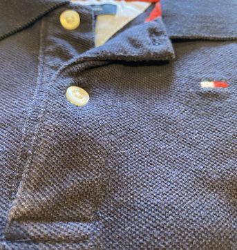 Polo tommy azul marinho fofa - 1 ano - Tommy Hilfiger