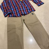 Lindo conjunto us polo - 3 anos - US Polo Assn