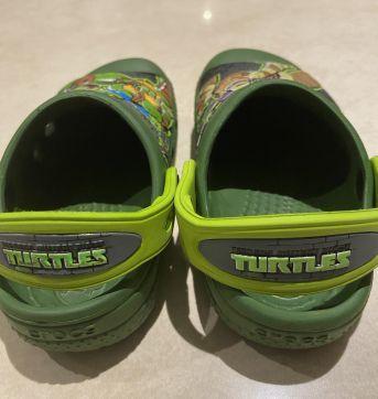 Crocs tartaruga ninja lindo - 21 - Crocs