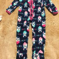 Macacão/ pijama em soft da Puket tamanho 3 a 6 meses - 3 a 6 meses - Puket