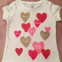 Camiseta manga curta Carters - 9 a 12 meses - Carter`s