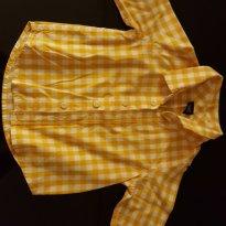 Blusinha Xadrez - 6 a 9 meses - Baby Gap