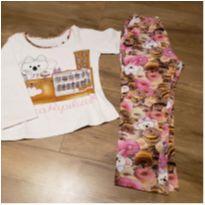 Pijama Lilica inverno - 2 anos - Lilica Ripilica