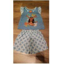 Pijama moana - 4 anos - Disney