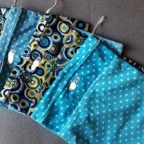 Saco impermeável para fraldas usadas bolinhas (b) - Sem faixa etaria - Não informada