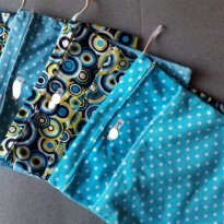 Saco impermeável para fraldas usadas bolinhas (a) - Sem faixa etaria - Não informada