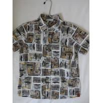 Camisa da Tyrol estampada - 8 anos - Tyrol