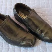 Sapato social preto couro legitimo! tam 30 - 30 - Não informada
