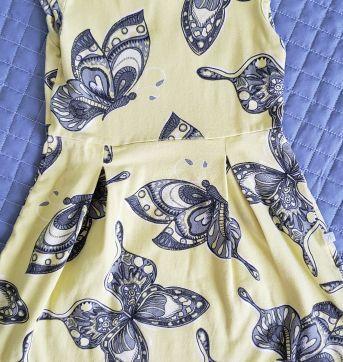 Vestido mariposas - 6 anos - Brandili