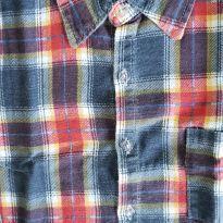 Camisa de flanela xadrez caipira - 5 anos - Não informada