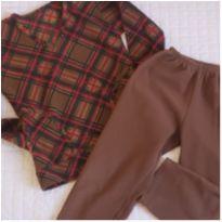 Pijama bem quentinho e fofinho - 4 anos - Magnólia