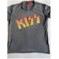 Camisa da Amplified Kiss - 5 anos - Não informada