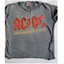 Camiseta de rock da Amplified ACDC - 5 anos - Não informada
