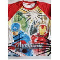 Camiseta manga longa Marvel Avengers - 4 anos - Avengers