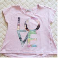 Camiseta Love da Tyrol - 4 anos - Tyrol