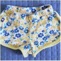 Shorts florido esportivo - 4 anos - Rolú
