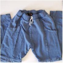 Calça saruel Zara azul stoned tam 10 - 10 anos - Zara
