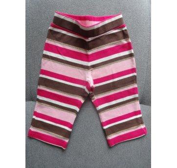 Calça legging em cotton listradinha da Gymboree! - 3 a 6 meses - Gymboree