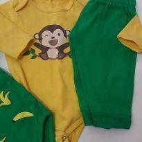 Trio Body Banana - 0 a 3 meses - Club B