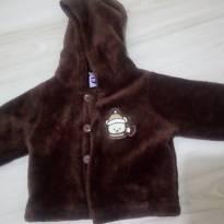 casaco peludinho - 6 meses - Tip Top
