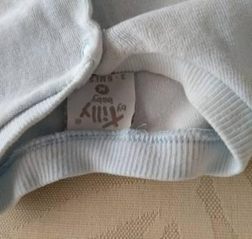 Casaquinho meia estação - 3 a 6 meses - Tilly Baby