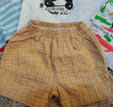 lotinhos de 4 camisetas e 1 bermudinha - 6 meses - Milon e Baby Club