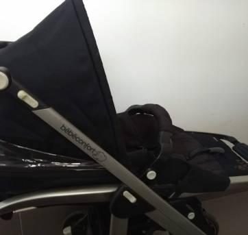 Carrinho bebe travel system + bebe conforto e base para fixar no carro - Sem faixa etaria - Não informada