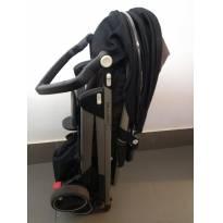 Carrinho bebe travel system + bebe conforto e base para fixar no carro -  - Não informada