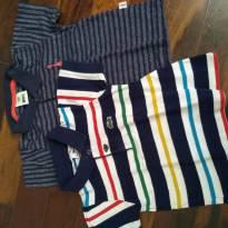 lotinho camisas polo - 1 ano - Lacoste e PUC