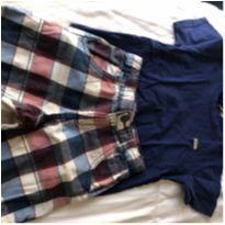 Conjuntinho camiseta e bermudinha - 2 anos - Alakazoo! e Milon